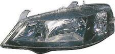 Vauxhall Astra Mk4 98-04 black smoked replacement driver headlight