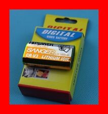 """★★★ """"1400mA"""" BATTERIE Type CRV3/CR-V3 ★★★ Pour Toshiba PDR-3300 / PDR-3320"""