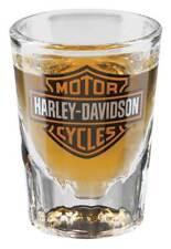 Harley-Davidson® Bar & Shield Over-sized 2 oz Clear Shot Glass HDX-98713