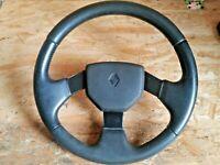 Renault 19 1,8 16V 3-Speichen Lenkrad Teilleder 7700793070
