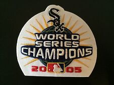 2005 World Series Champions Champs Patch Chicago White Sox Baseball 2006