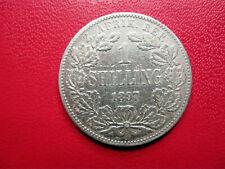 Afrique du Sud. South Africa. 1 shilling 1897. Paul Kruger