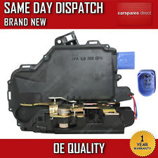 VW POLO 9N REAR RIGHT CENTRAL DOOR LOCK 2001>2013 **NEW 6 PIN 1 YR WARRANTY**