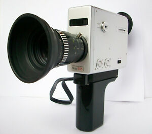 Braun Nizo S55 Super 8 Camera, 7-56mm lens, fully tested, serviced, all working.