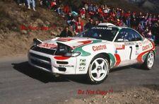 Juha Kankkunen Toyota Celica Turbo 4WD Monte Carlo Rally 1993 Photograph 2