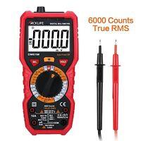 Tacklife DM01M Advanced Digital Multimeter Professional Multi Tester 6000 Cou...