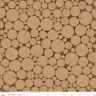 Timeless Treasure, Log, Wood, Wood Grain, Cross Section, Brown, Cotton Fabric