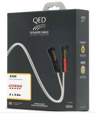 3m QED XT25 Pre-Terminated Speaker Cable (Pair)