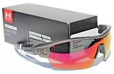 UNDER ARMOUR Rival Sunglasses Ceramic Charcoal/Infrared Mirror NEW Sport $140