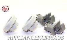 Bosch Dishwasher Upper Dishrack Roller Assembly Set NEW Genuine Dish Rack Pair