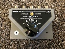 Alphadelta Delta-4, 4-Position Coax Switch with So-239 Connectors - No Reserve