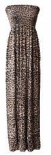 Ladies Floral Strapless Maxi Fancy Dress Sheering Boob Tube Bandeau Plus Size