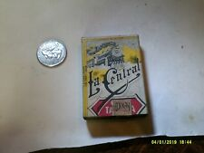 VINTAGE MEXICO  LA CENTRAL RAILROAD BOX OF MATCHES SOME USED