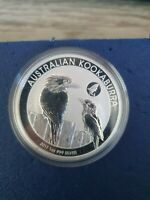 2017 Australian Kookaburra 1 oz silver.999 Shark Privy mark