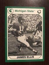 1990 Michigan State Spartans Collegiate Collection #10 - James Ellis - Football