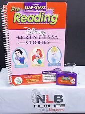 LeapFrog LeapPad Pre-K Disney Princess Stories Pre-Reading Book & Cartridge