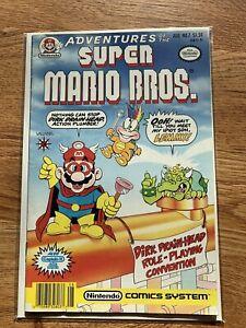Adventures of the Super Mario Bros Comic #7 (Valiant 1991) - EXCELLENT CONDITION