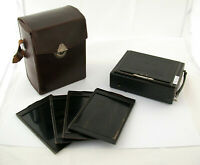 ICA Ideal 9x12 foldable camera Zeiss Tessar 4,5/135 135 mm 4,5 full set /19