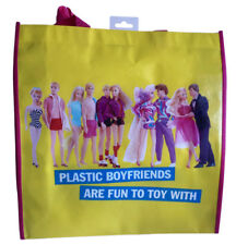 "Barbie ""Plastic Boyfriends are Fun to Toy with� 15 Inch X 14 Inch Shopper Tote"