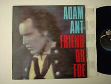 ADAM ANT LP FRIEND OR FOE 1982 EPIC ARE38370 GOODY TWO SHOES HELLO I LOVE YOU