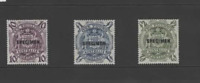 AUSTRALIA 1948  SET OF 3-SPECIMEN  (SG224bs-224ds) MNH
