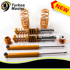 NEW Street Coilover Kit Fits for VW MK4 Golf GTI Jetta Beetle Golden