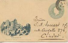 FULL POSTAL /  POSTCARD  CP ENTIER POSTAL / ARGENTINA CALLE DE SANTA FE 1898