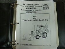 Ford New Holland 555C & 655C Tractor Loader Backhoe Parts Catalog Manual