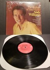Andy Williams The Shadow of Your Smile ORIGINAL EXCELLENT CONDITION SHRINK STILL