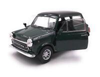 Modellauto Mini Cooper 1300 Oldtimer Grün  Auto Maßstab 1:34-39 (lizensiert)
