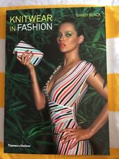 V Good Paperback, Knitwear in Fashion Sandy Black Kate Moss. Textiles Students