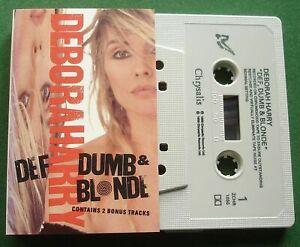 Deborah Harry Def Dumb & Blonde inc Lovelight + Cassette Tape - TESTED