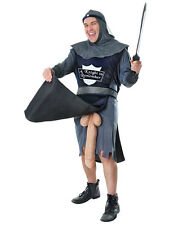 Adult Knight To Remember Rude Flasher Stag Night Outfit Fancy Dress Costume New