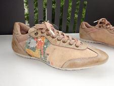 NOBRAND LIMITED EDITION Sneaker Leder Textil Beige-Kupfer Portugal Gr.36 Neu