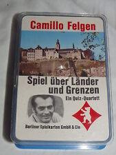 Camillo Felgen - Spiel über Länder und Grenzen - Quartett - Berliner Spielkarten