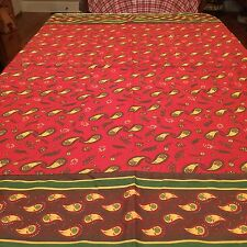 """Provence Style Tablecloth 55"""" Square Made By Pomegranate India"""