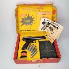 Vintage CROSMAN Model 150 Home Shooting Set Pellgun CO2 Pistol w/ Original Box