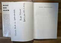 Ruth Eisner Nicht wir allein ... Aus dem Tagebuch einer Jüdin // Signiert