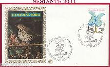 ITALIA FDC FILAGRANO FIORI PIANTE EUROFLORA 1986 EUROPA CEPT NATURA GENOVA Y417