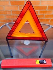 AA EMERGENCY WARNING TRIANGLE RECOVERY REFLECTIVE  EUROPEAN HAZARD SAFE NEW