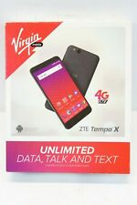 NEW Virgin Mobile - ZTE Tempo X 4G LTE 8GB Prepaid Cell Phone - FREE SHIPPING