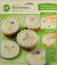 Garden Floral 14 Edible Dessert Designs from Wilton #1329 NEW