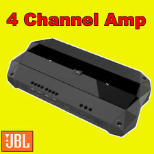 JBL CAR/VAN CLUB D AMP AMPLIFER 4 FOUR MULTI CHANNEL BUILT IN CROSSOVERS NEW