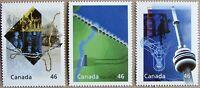 #1831a, b, d:  CANADA MNH 3 stamps from Hardbound Millennium Book