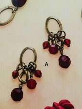 gold plated beads post earrings Premier Designs ''Caliente&#039 ;' antiqued matte