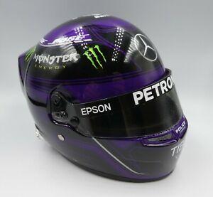 Bell 1:2 Lewis Hamilton F1 helmet 2020 black/purple New in Box