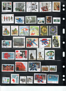 38 Used Canada Stamps from 2010 to 2017 - Lot 2
