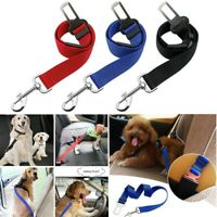 Adjustable Pet Dog Puppy Car Safety Seatbelt Seat Belt Harness Leash Lead Nylon
