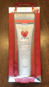 Fresh Frequent Flyer Soy Face Cleanser And Sugar Lip Treatment 2 Piece set--NIB