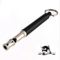 Dog Whistle Stop Barking Ultrasonic Sound Repeller Train With Strap VU
